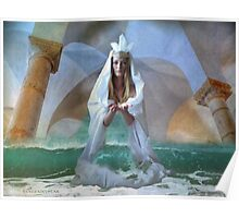 ...the Goddess and Birth of a Temple in the Sea... Poster