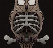 Dead Owl by crabro