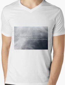 Not Afraid Of Lightning - Loki Mens V-Neck T-Shirt