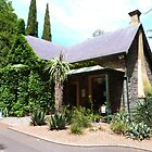 Charming North Lodge entry to Botanic Gdns. Adelaide C.B.D. by Rita Blom