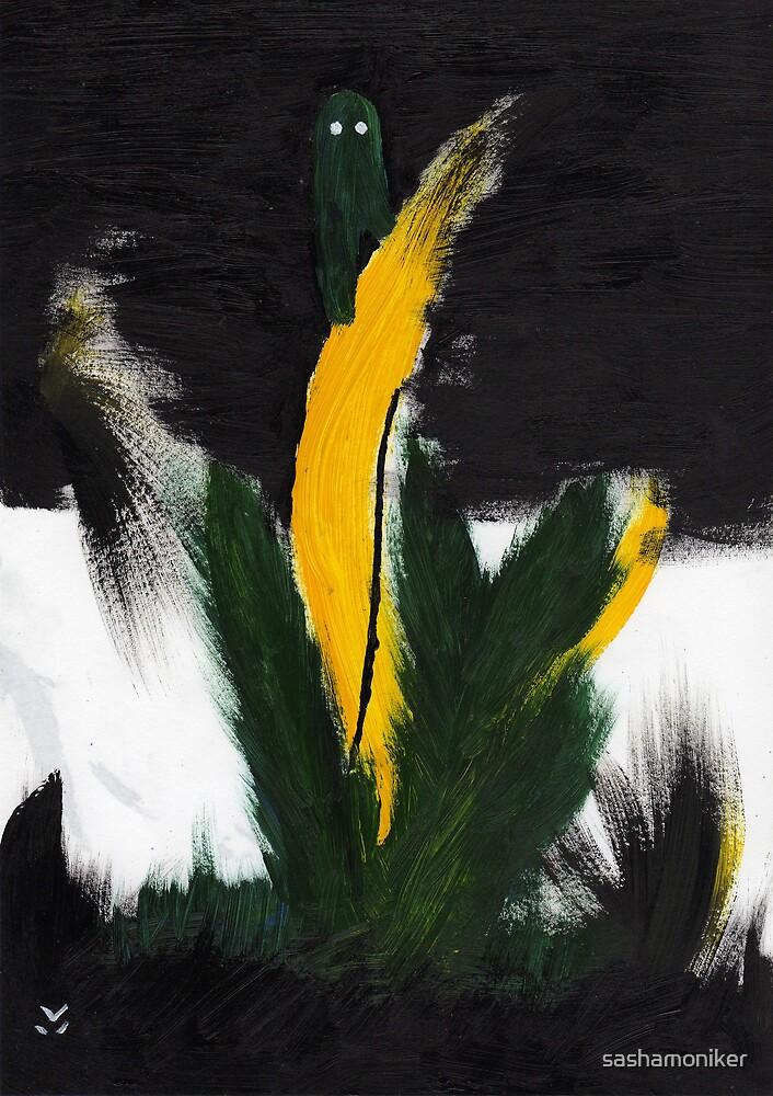 Cactus ghost by sashamoniker