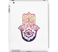 Sunset Fatima Hand Hamsa iPad Case/Skin