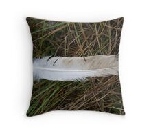 On Eagle's Wings Throw Pillow