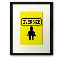 Oversize Minifig Framed Print