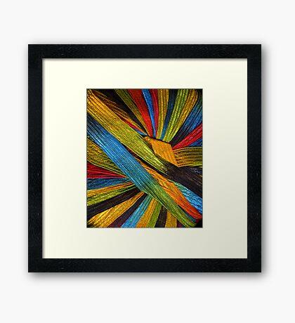 Yarn 4 Framed Print