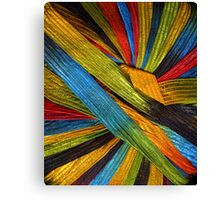 Yarn 4 Canvas Print