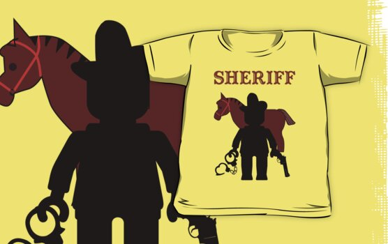 """SHERIFF"", Customize My Minifig by Customize My Minifig"