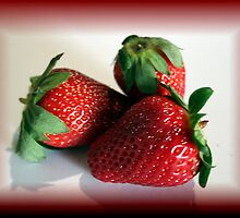 strawberries by sherryn pitt