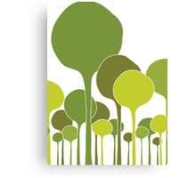 Green Palette Canvas Print