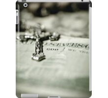God Over Money iPad Case/Skin