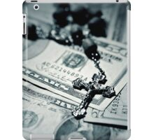 Politics Religion and Money - 2 iPad Case/Skin