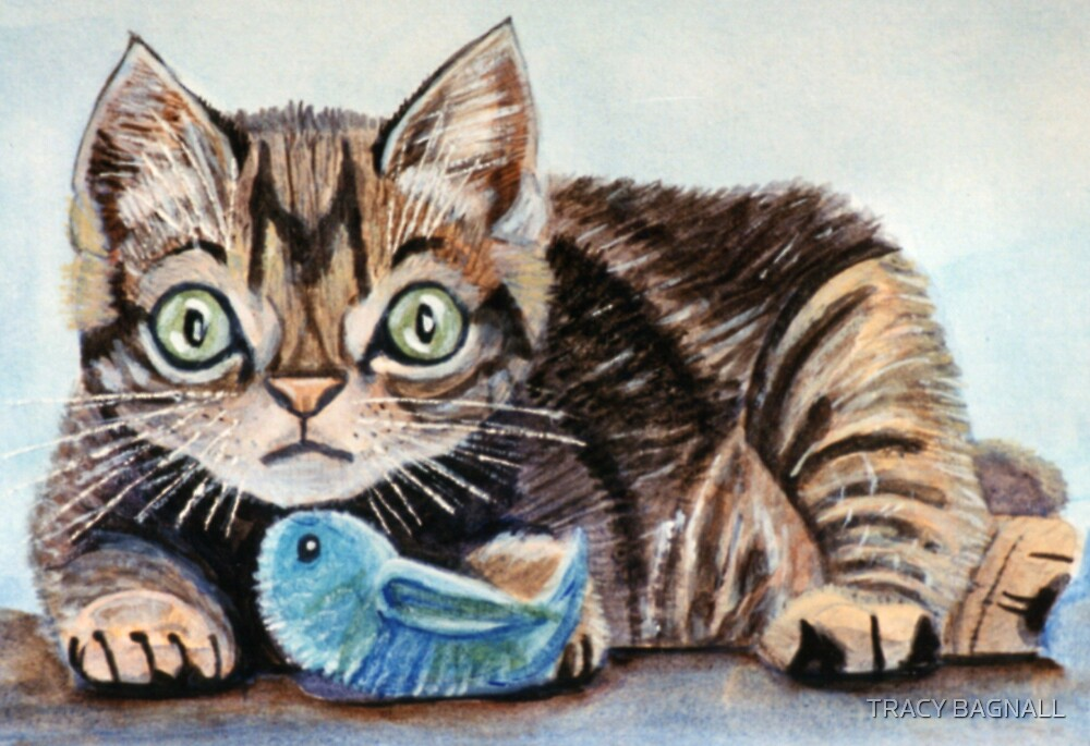 kitten by TRACY BAGNALL
