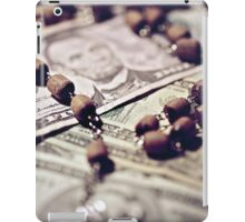 Politics Religion and Money iPad Case/Skin