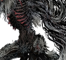 Cleric Beast from Bloodborne Sticker