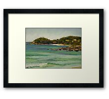 South Steyne Beach Framed Print