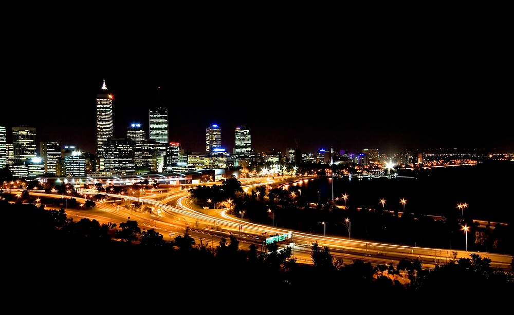 Perth, Western Australia by Mark Baker