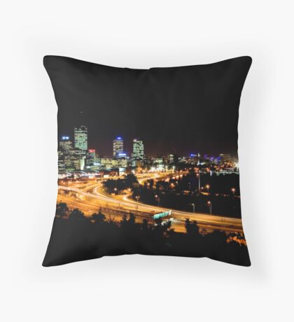 Perth, Western Australia Throw Pillow