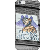 San Francisco street name iPhone Case/Skin