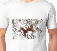 Falling, Fighting, Flying Rainbows Unisex T-Shirt