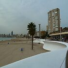 Benidorm Beach by Janone