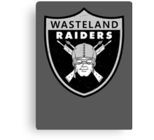 Wasteland Raiders Canvas Print