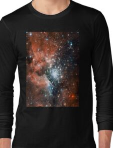 Red Galaxy 2.0 Long Sleeve T-Shirt