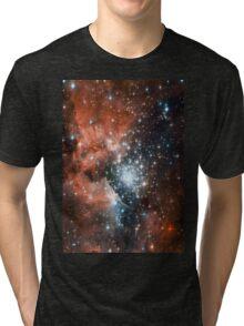 Red Galaxy 2.0 Tri-blend T-Shirt