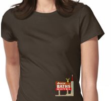 Baths Womens Fitted T-Shirt
