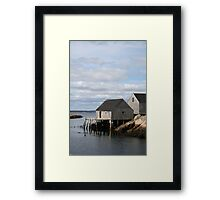 Peggy's Cove 2 Framed Print