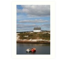 Peggy's Cove 4 Art Print