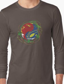 Mega Rayquaza Pokemon Long Sleeve T-Shirt