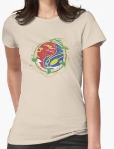 Mega Rayquaza Pokemon Womens Fitted T-Shirt