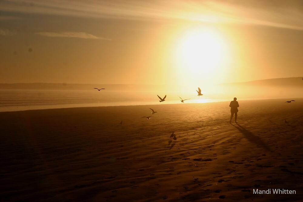 beach walker by Mandi Whitten