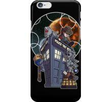 Cute 4th with Enemies + Gallifrey iPhone Case/Skin