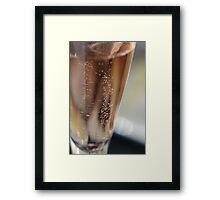 Rose Bubbly Framed Print