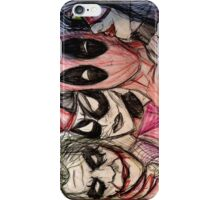Deadpool Joker Harley & Spiderwoman iPhone Case/Skin