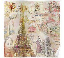 Paris Nights Paper 1 Poster