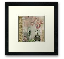 Paris Nights Paper 5 Framed Print