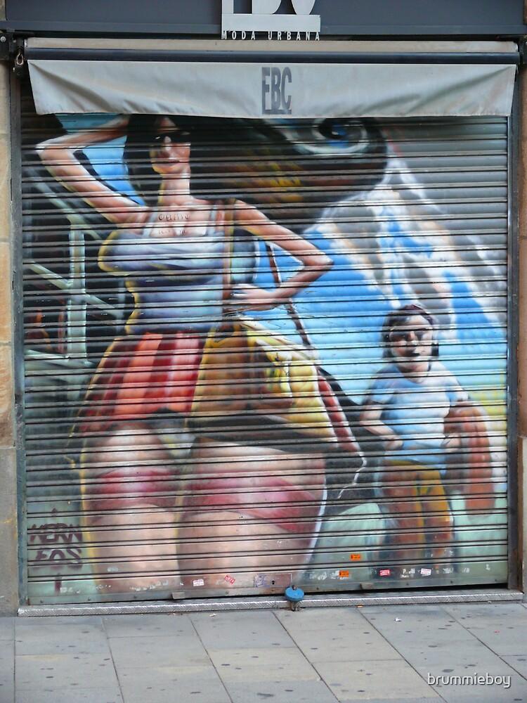 Barcelona Grafitti by brummieboy