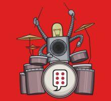 FRD - The funky Robo Drummer - BUBBLEROCK!!!!