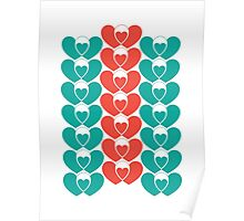 Family pattern Poster