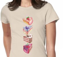 Piece of Cake  Womens Fitted T-Shirt