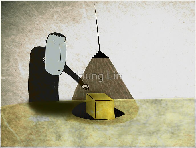 The yellow box by Hung Lin