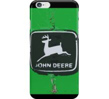 John Deere Tractor Emblem Photograph Painting iPhone Case/Skin
