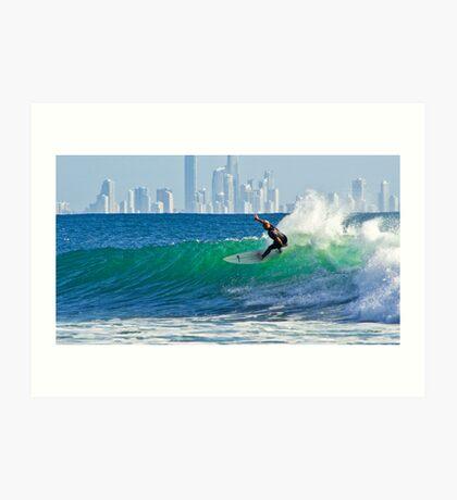Surfers Paradise Art Print