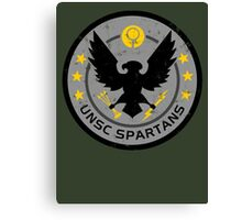 Spartan Patch Canvas Print