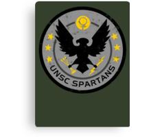 Spartan Patch Canvas Print