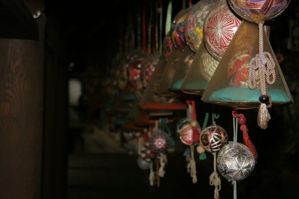 Temari Balls - Ishiteji temple Matsuyama in Ehime prefecture   by Trishy