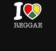 I love reggae. Black version! Tank Top