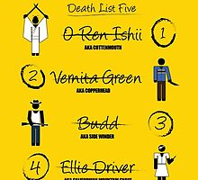 Kill Bill - Kill List by jackallum